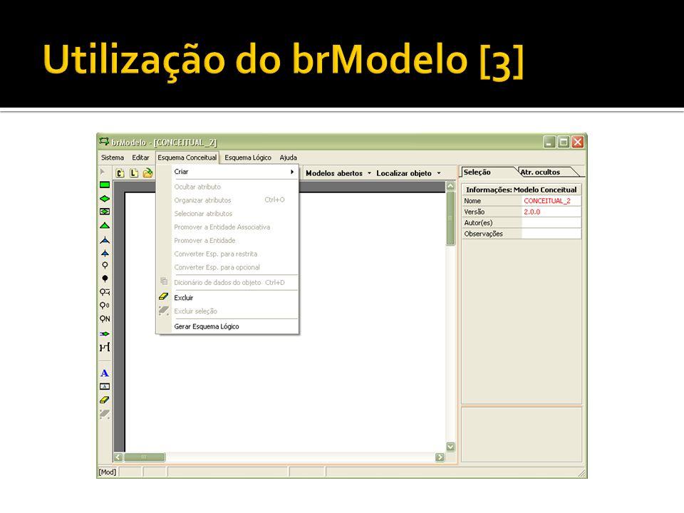 Utilização do brModelo [3]